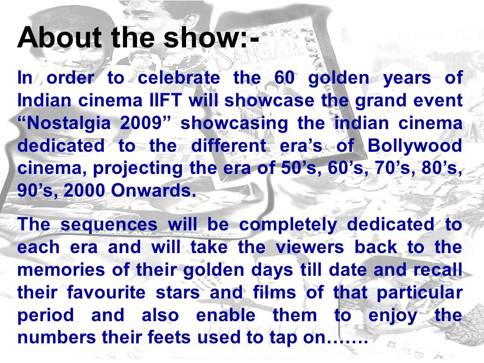 1950s-1960 This Era was dominated by the leading stars non other than:- DILIP KUMAR, RAJKAPOOR, NARGIS etc.