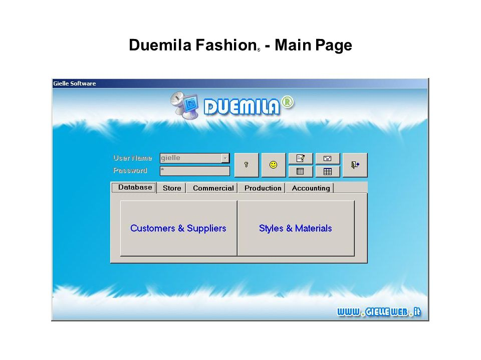 Duemila Fashion ® - Main Page