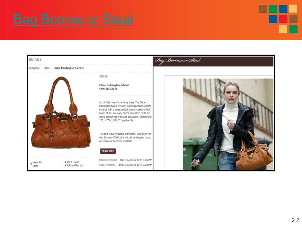 2-2 Bag Borrow or Steal