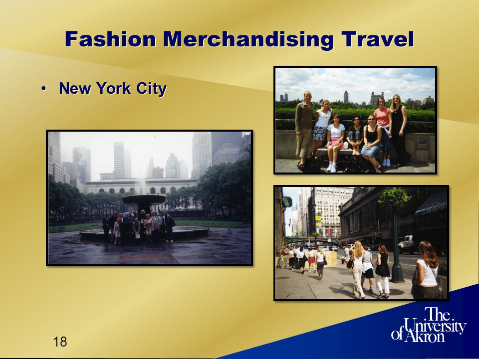 18 Fashion Merchandising Travel New York City