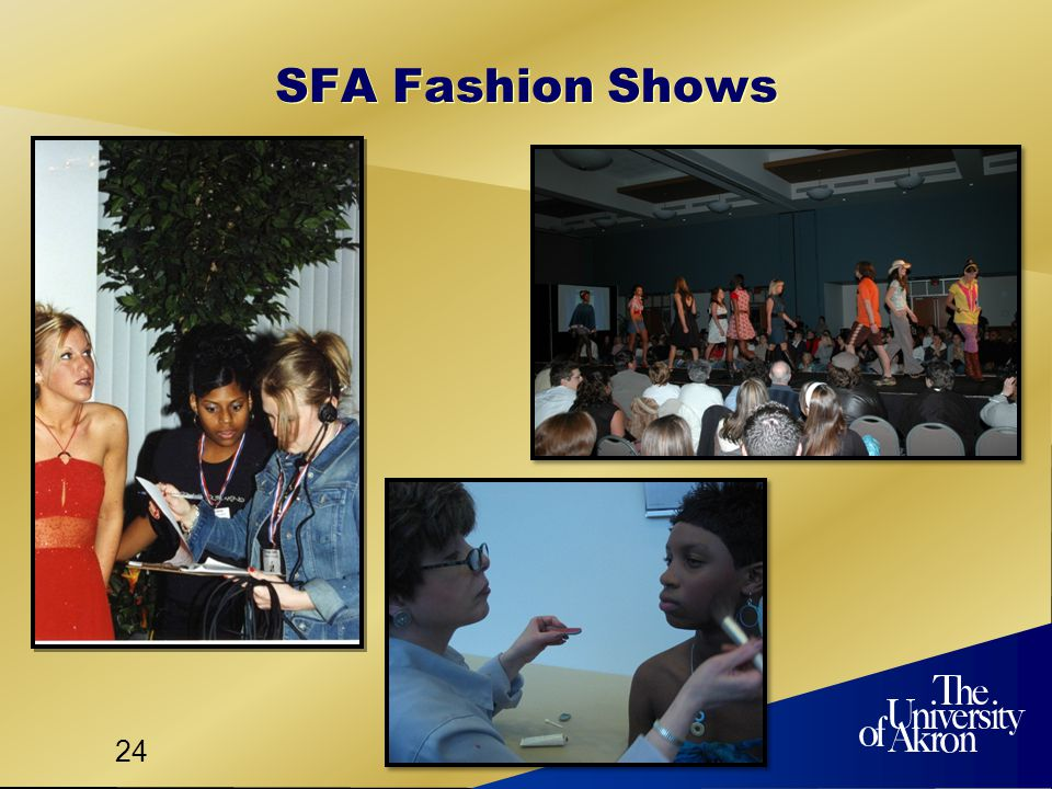 24 SFA Fashion Shows