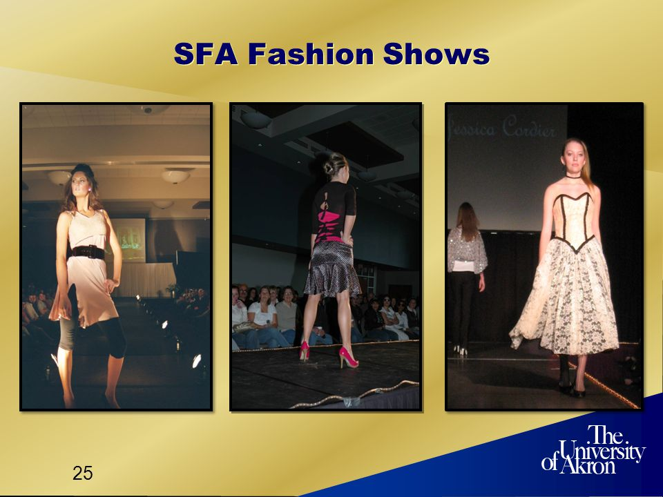 25 SFA Fashion Shows