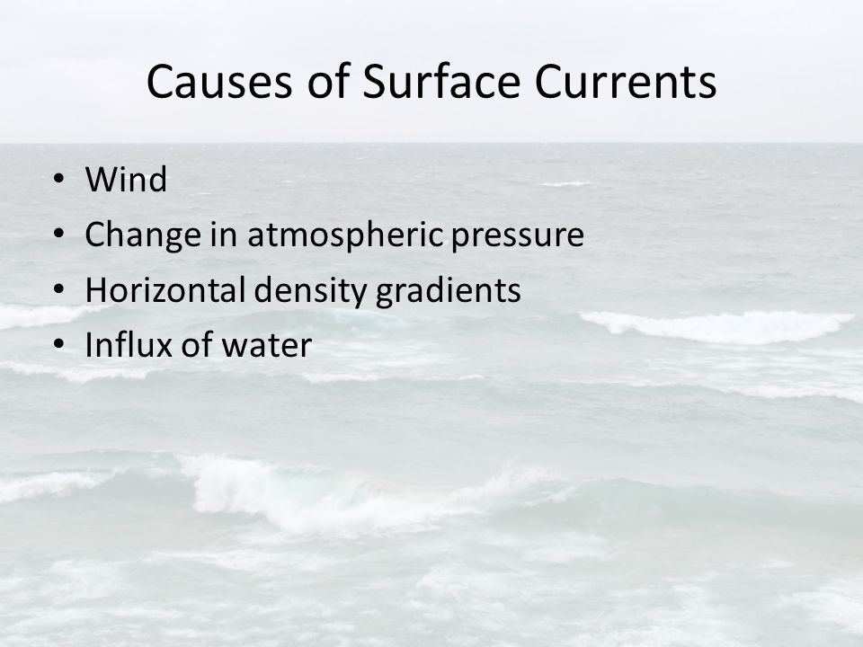 Surface Currents in Lake Erie