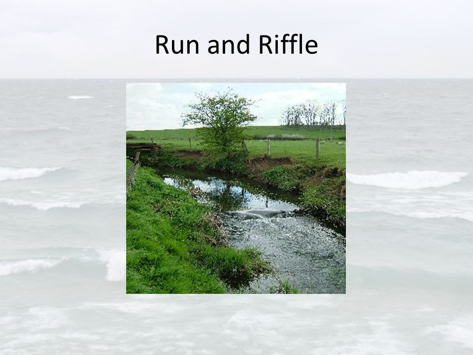 Run and Riffle
