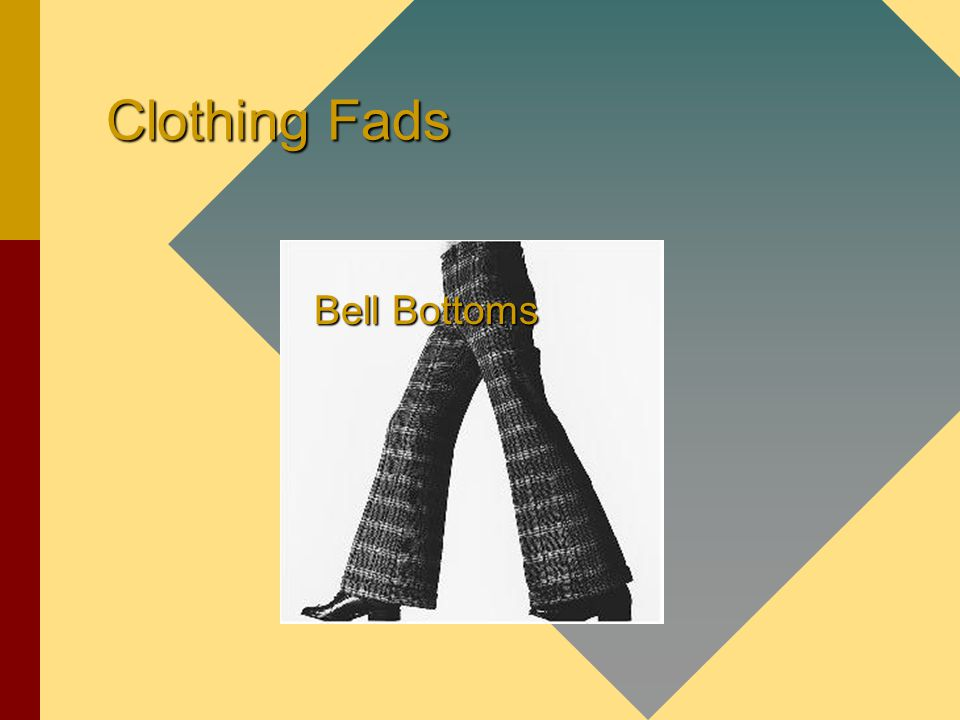 Clothing Fads Bell Bottoms