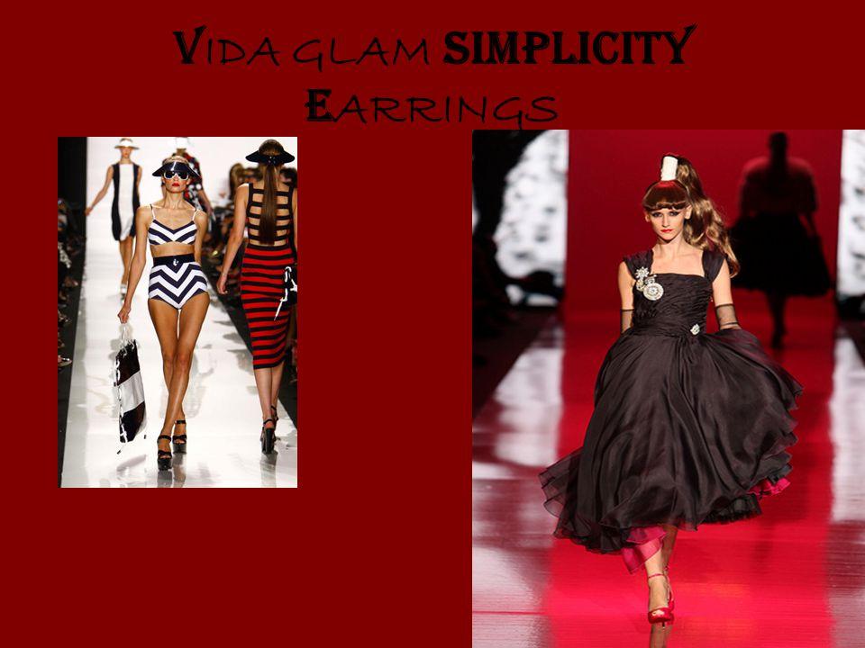 V IDA GLAM SIMPLICITY E ARRINGS