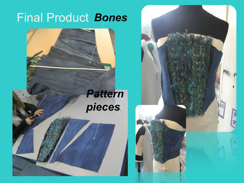 Final Product Bones Pattern pieces.