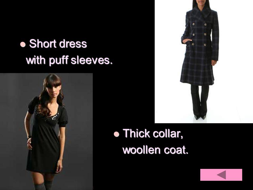 Thick collar, Thick collar, woollen coat.woollen coat.