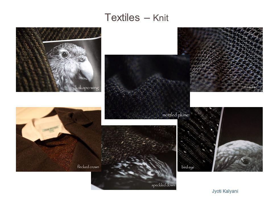 Textiles – Knit Jyoti Kalyani