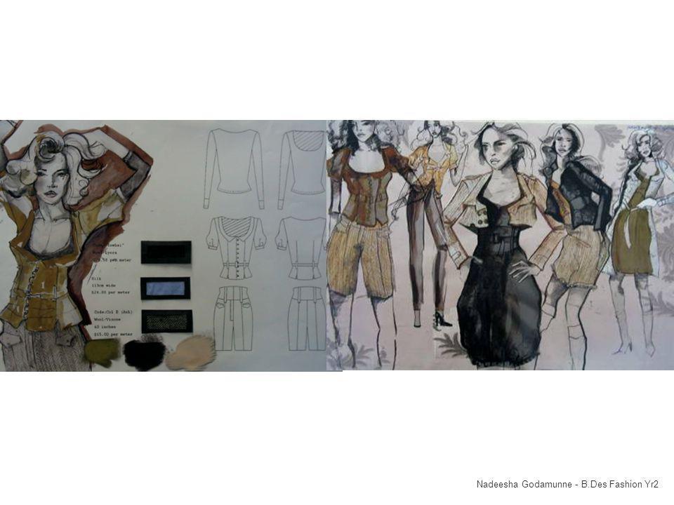 Location Equipment Staff Nadeesha Godamunne - B.Des Fashion Yr2