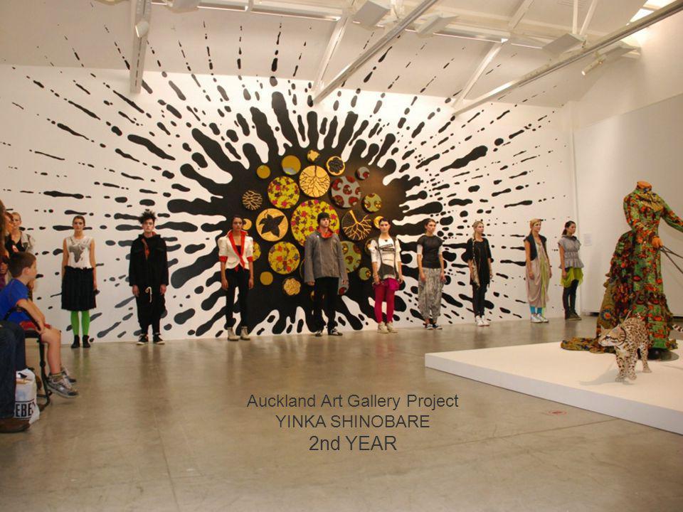 Auckland Art Gallery Project YINKA SHINOBARE 2nd YEAR