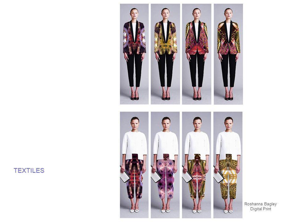 Roshanna Bagley Digital Print TEXTILES