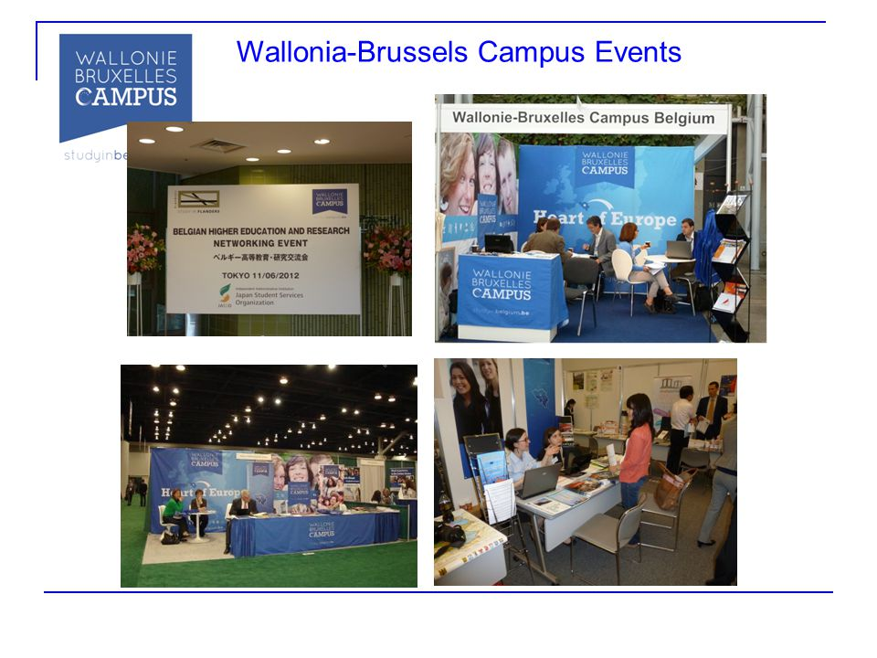 Wallonia-Brussels Campus Events