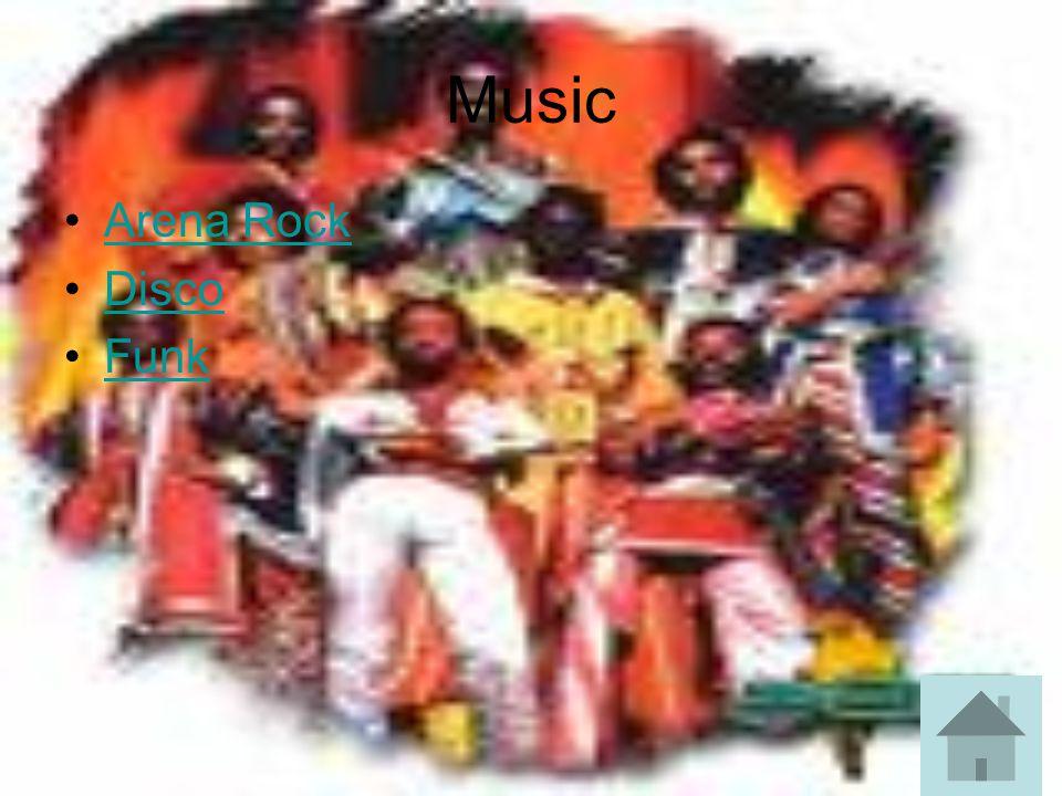 Music Arena Rock Disco Funk
