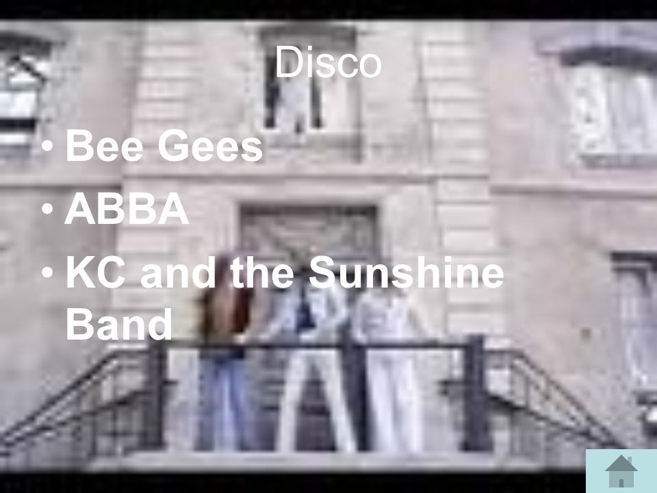 Disco Bee Gees ABBA KC and the Sunshine Band