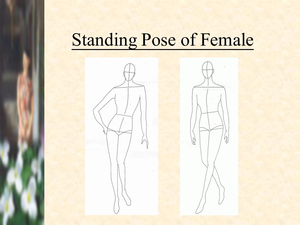 Standing Pose of Female