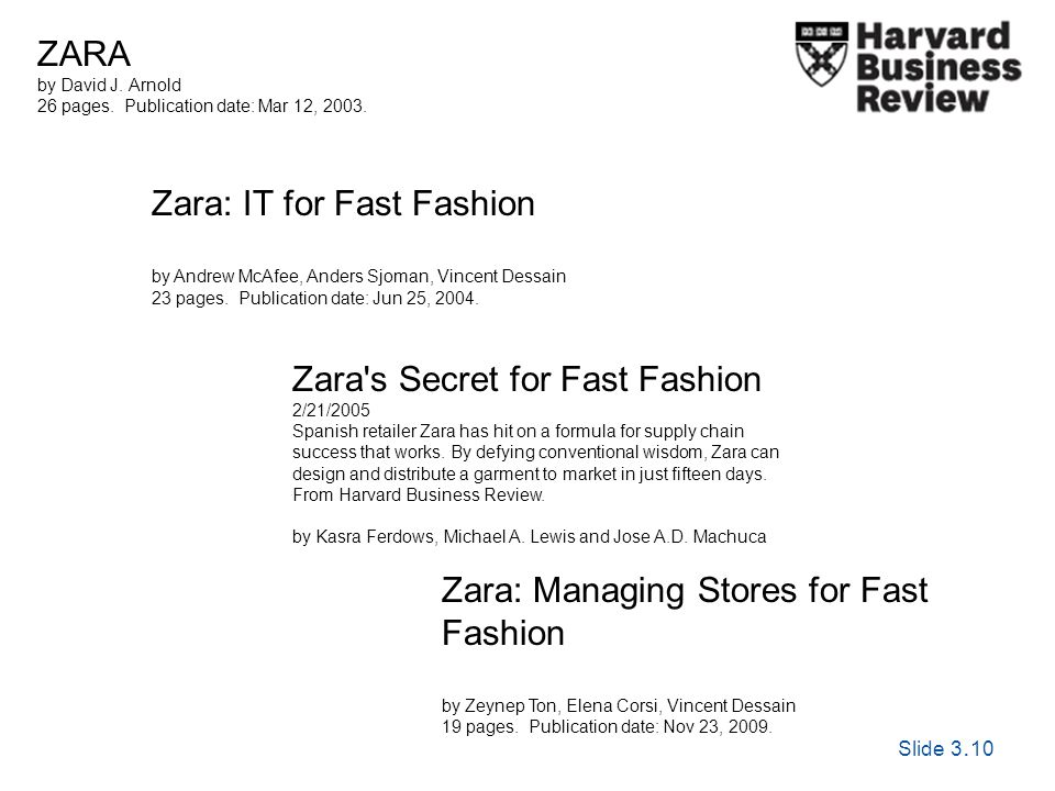Slide 3. 10 Exploring Corporate Strategy, Seventh Edition, © Pearson Education Ltd 2005 Zara: IT for Fast Fashion by Andrew McAfee, Anders Sjoman, Vin
