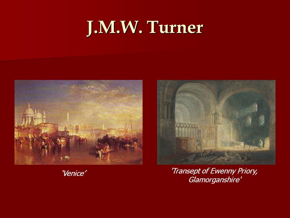 J.M.W. Turner Venice Transept of Ewenny Priory, Glamorganshire