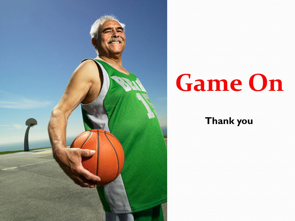 Thank you Game On