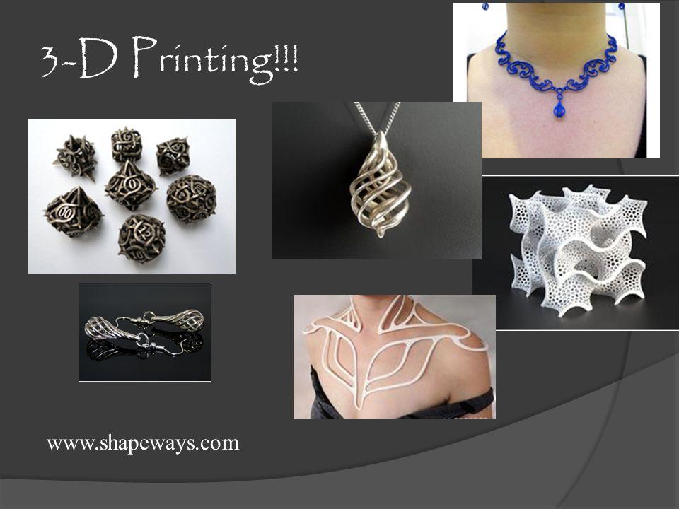 3-D Printing!!! www.shapeways.com