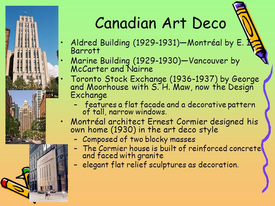 Canadian Art Deco Aldred Building (1929-1931)Montréal by E.