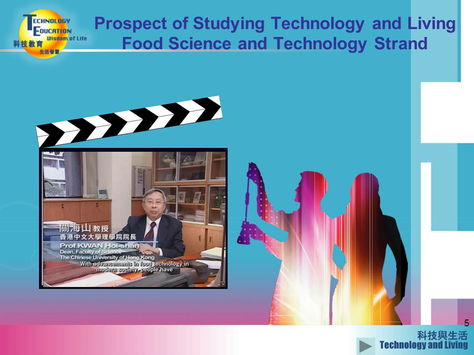 5 Prospect of Studying Technology and Living Food Science and Technology Strand