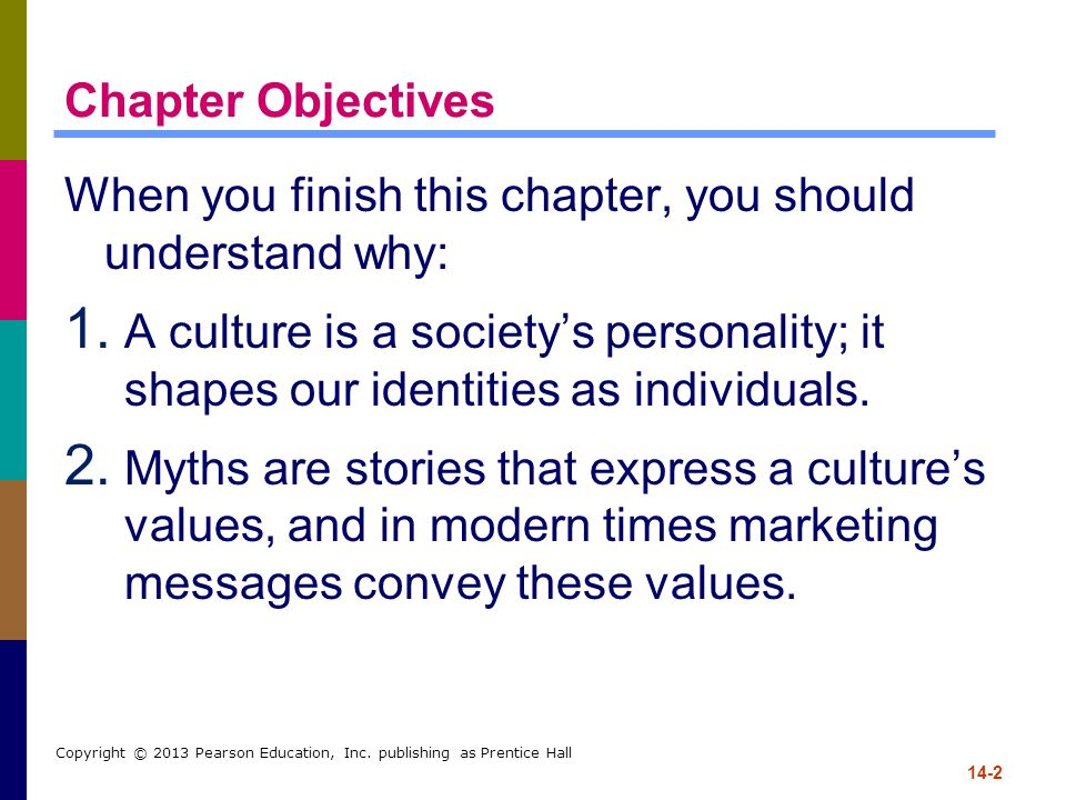 14-2 Copyright © 2013 Pearson Education, Inc. publishing as Prentice Hall Chapter Objectives When you finish this chapter, you should understand why: