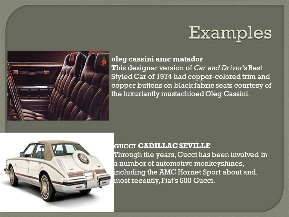 Classy cars are used to make sure that a projection of the rider is correctly interpreted Luxury auto brands are well aware that their target audience is the upscale, discriminating buyer with disposable income.