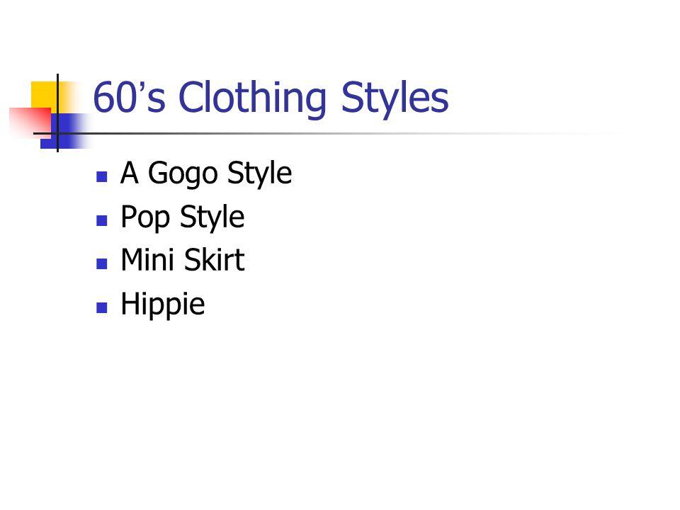 60 s Clothing Styles A Gogo Style Pop Style Mini Skirt Hippie
