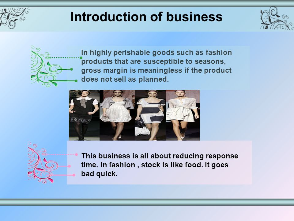 Introduction of business This business is all about reducing response time.