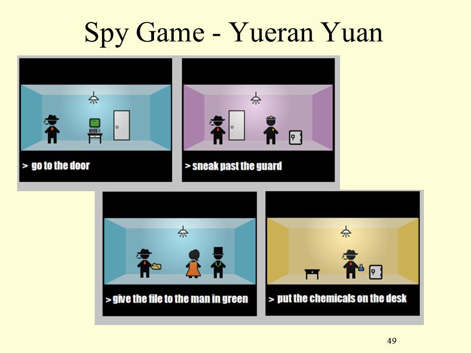 49 Spy Game - Yueran Yuan 49
