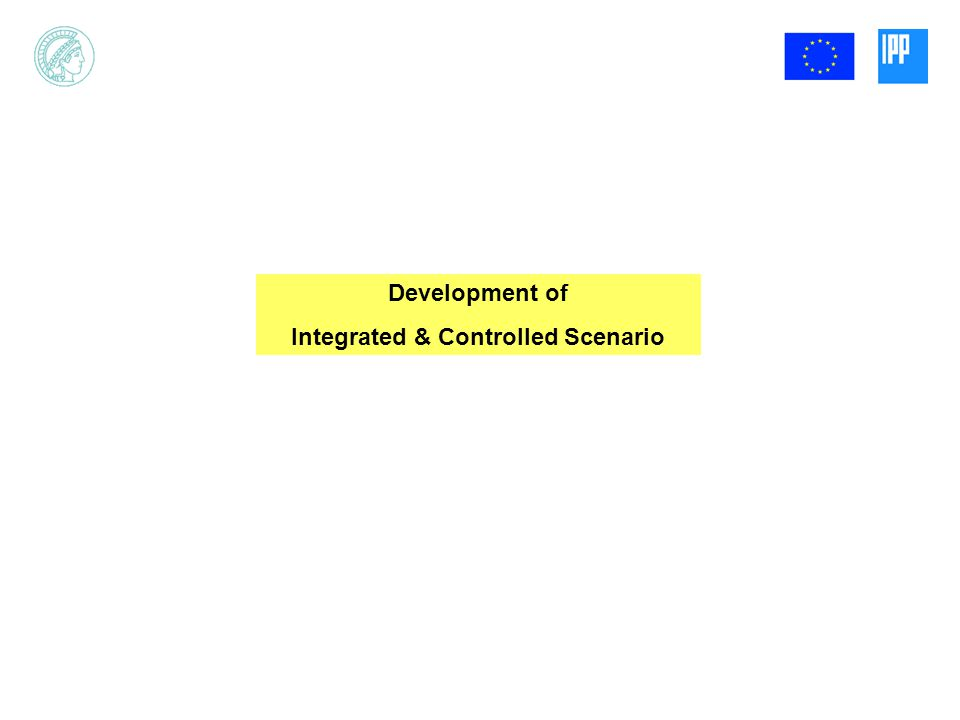 Development of Integrated & Controlled Scenario
