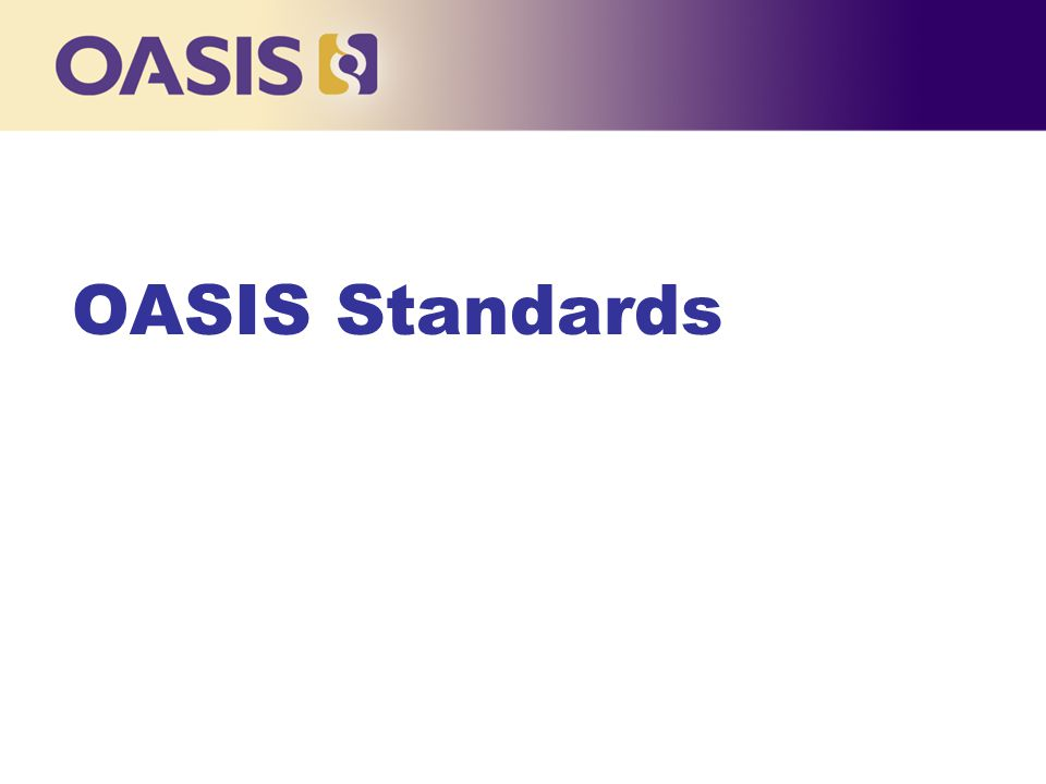 OASIS Standards