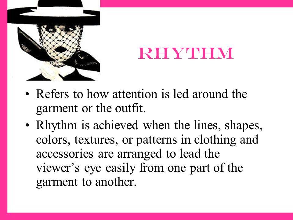 Rhythm portfolio page