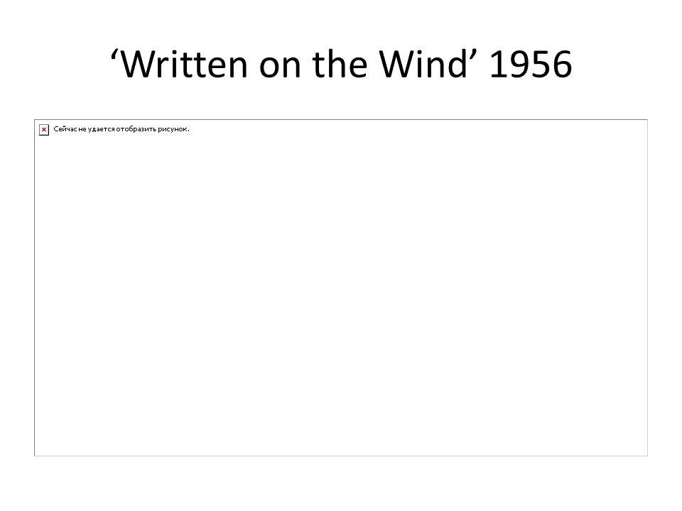 Written on the Wind 1956