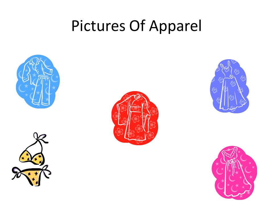 Pictures Of Apparel