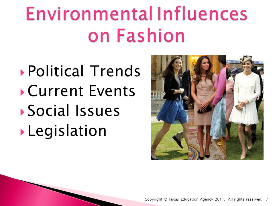 Political Trends Current Events Social Issues Legislation Copyright © Texas Education Agency 2011.