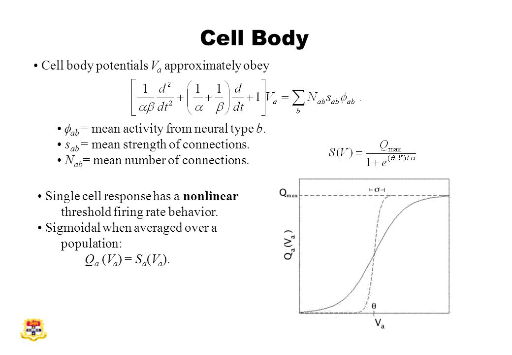 Single cell response has a nonlinear threshold firing rate behavior.