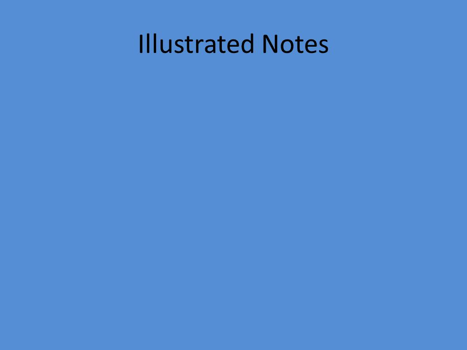 Illustrated Notes