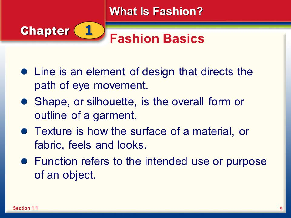 What Is Fashion.