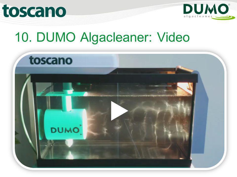 10. DUMO Algacleaner: Video