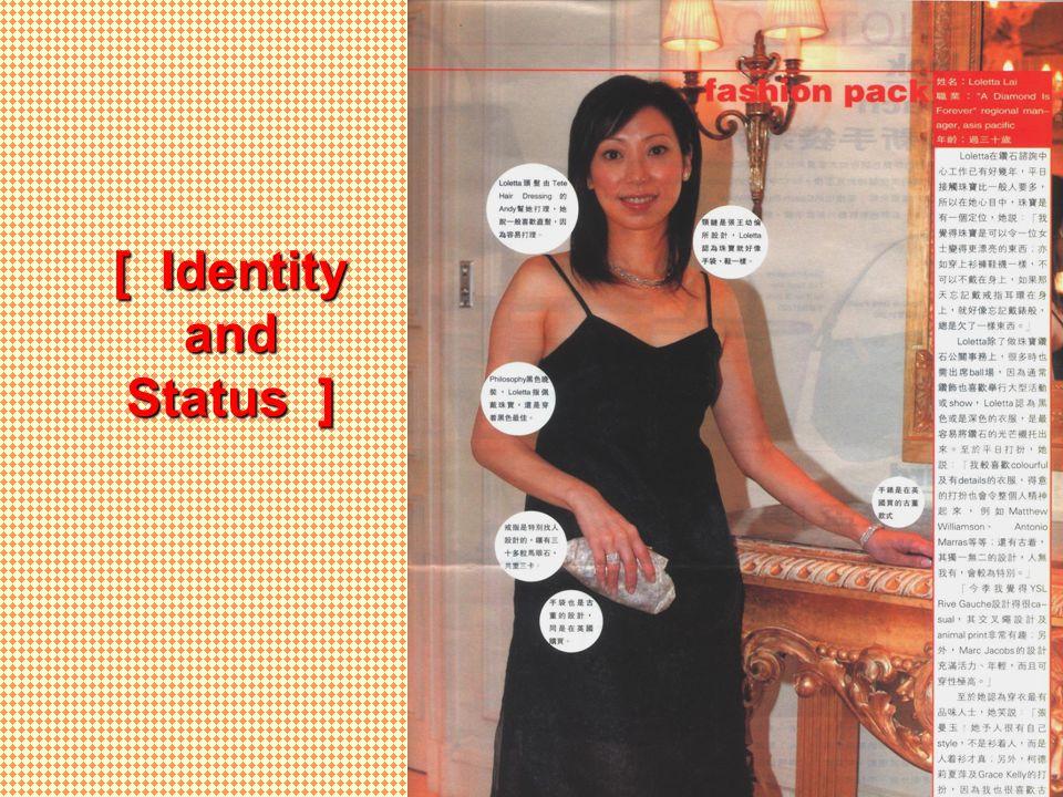 [ Identity and Status ]