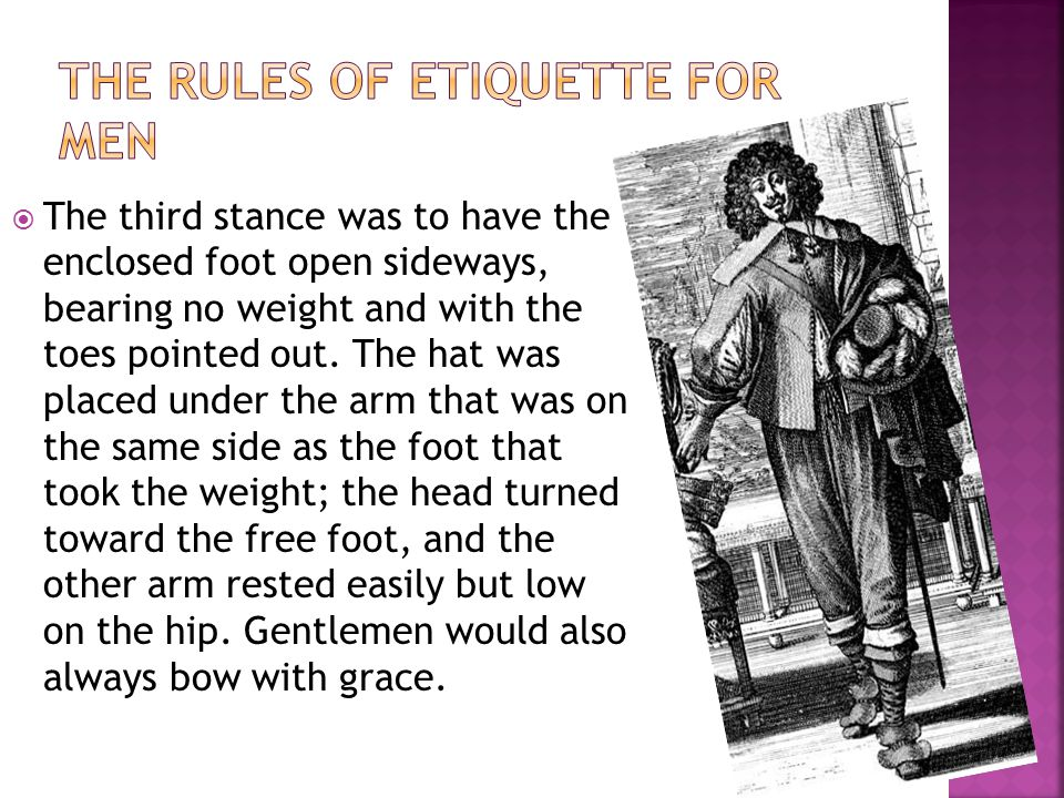 The third stance was to have the enclosed foot open sideways, bearing no weight and with the toes pointed out.