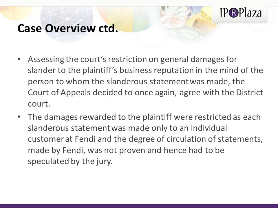 Conclusion The Court of Appeals fully agrees with the previous decisions made by the District Court of southern New York.