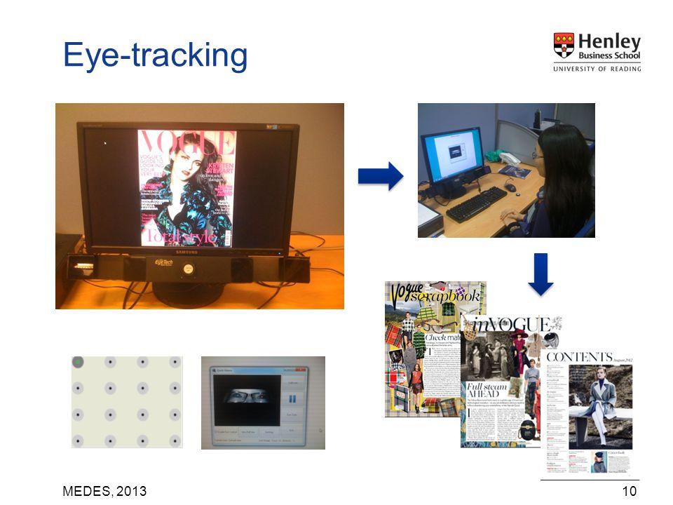 MEDES, 201310 Eye-tracking