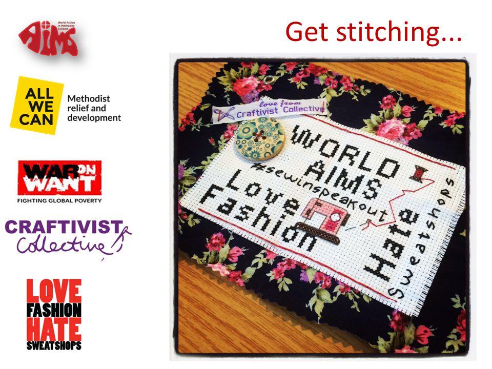Get stitching...