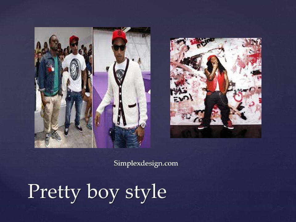 Pretty boy style Simplexdesign.com