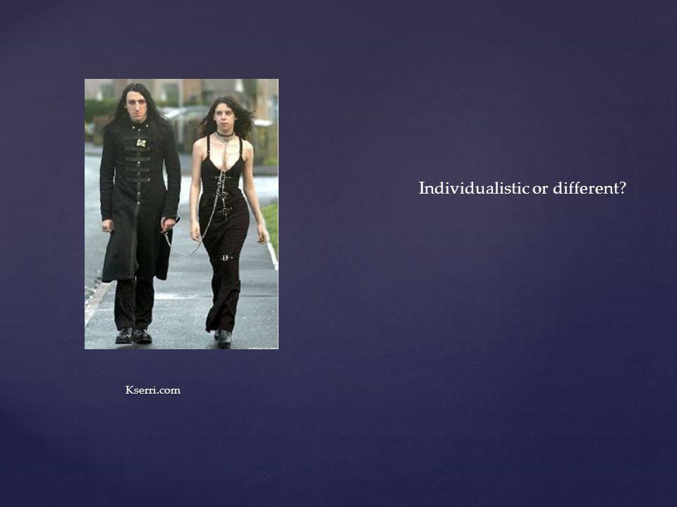 Kserri.com Individualistic or different