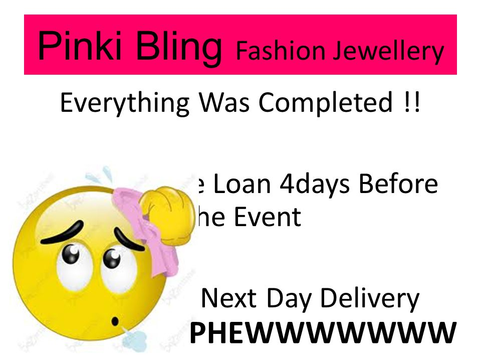 Pinki Bling Fashion Jewellery Everything Was Completed !.