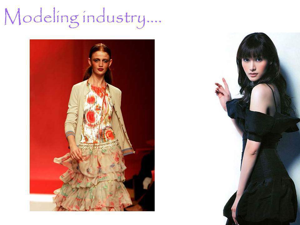 Modeling industry….
